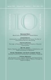 International Organization Volume 62 - Issue 2 -