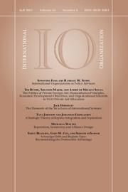 International Organization Volume 66 - Issue 4 -