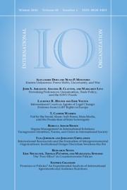International Organization Volume 68 - Issue 1 -