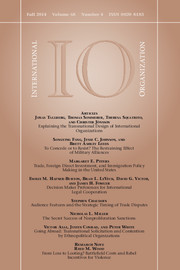 International Organization Volume 68 - Issue 4 -