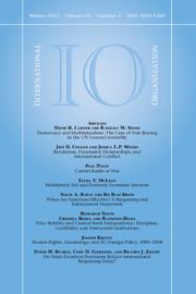 International Organization Volume 69 - Issue 1 -