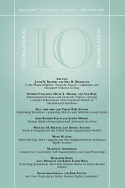 International Organization Volume 69 - Issue 2 -