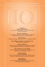 International Organization Volume 69 - Issue 3 -