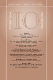 International Organization Volume 69 - Issue 4 -