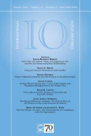 International Organization Volume 70 - Issue 1 -