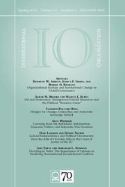 International Organization Volume 70 - Issue 2 -