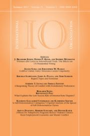 International Organization Volume 71 - Issue 3 -