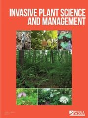 Invasive Plant Science and Management Volume 12 - Issue 1 -