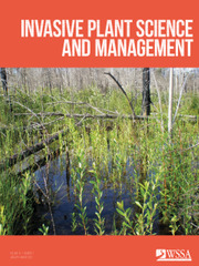 Invasive Plant Science and Management Volume 14 - Issue 1 -