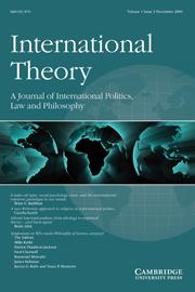 International Theory Volume 1 - Issue 3 -