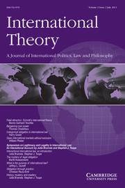 International Theory Volume 3 - Issue 2 -