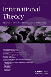 International Theory Volume 6 - Issue 2 -