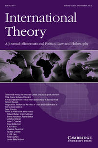 International Theory Volume 6 - Issue 3 -