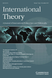 International Theory Volume 7 - Supplement3 -