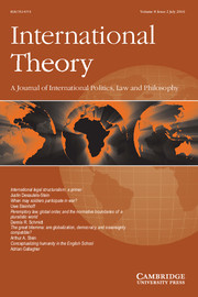 International Theory Volume 8 - Issue 2 -