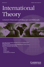 International Theory Volume 9 - Issue 2 -