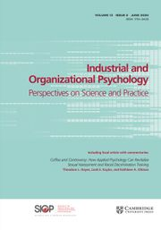 Industrial and Organizational Psychology Volume 13 - Issue 2 -