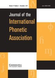 Journal of the International Phonetic Association Volume 47 - Issue 3 -