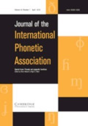 Journal of the International Phonetic Association Volume 48 - Special Issue1 -  Prosody and pragmatic functions