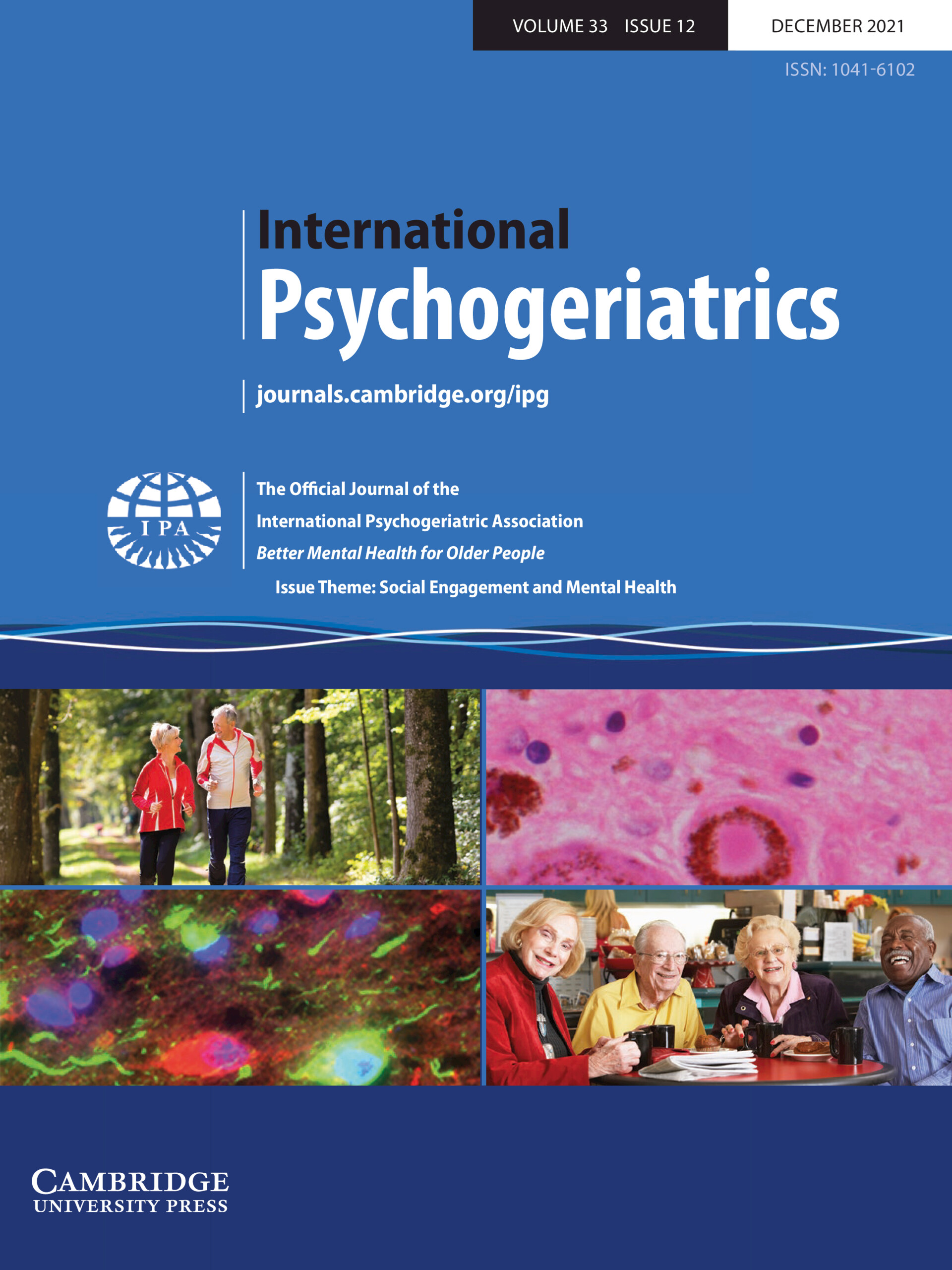 Posters International Psychogeriatrics Cambridge Core