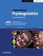 International Psychogeriatrics Volume 21 - Issue 1 -