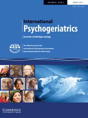 International Psychogeriatrics Volume 24 - Issue 3 -