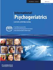 International Psychogeriatrics Volume 24 - Issue 5 -