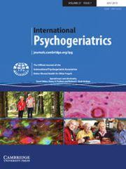 International Psychogeriatrics Volume 27 - Special Issue7 -  Late Life Anxiety