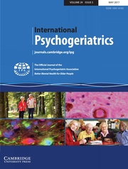 International Psychogeriatrics Volume 29 - Issue 5 -