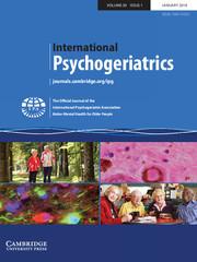 International Psychogeriatrics Volume 30 - Issue 1 -