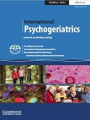 International Psychogeriatrics Volume 30 - Issue 3 -  Issue Theme: Psychosocial Interventions for Dementia