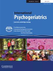 International Psychogeriatrics Volume 30 - Issue 5 -  Issue Theme: Brain Imaging