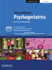 International Psychogeriatrics Volume 30 - Special Issue6 -  Social Health