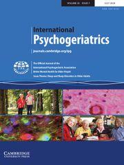 International Psychogeriatrics Volume 32 - Issue 7 -  Issue Theme: Sleep and Sleep Disorders in Older Adults