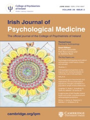 Irish Journal of Psychological Medicine