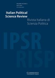 Italian Political Science Review / Rivista Italiana di Scienza Politica Volume 49 - Special Issue2 -  Autocracy Strikes Back: Authoritarian Resurgence in the Early 21st Century