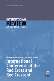 International Review of the Red Cross Volume 91 - Issue 876 -  International Conference of the Red Cross and Red Crescent