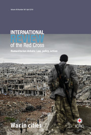 International Review of the Red Cross Volume 98 - Issue 901 -  War in cities