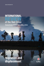 International Review of the Red Cross Volume 99 - Issue 904 -  Migration and displacement