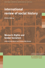 International Review of Social History