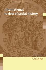 International Review of Social History Volume 51 - Issue 1 -