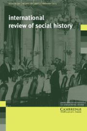 International Review of Social History Volume 60 - Issue 3 -