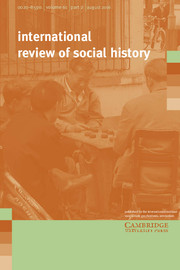 International Review of Social History Volume 61 - Issue 2 -