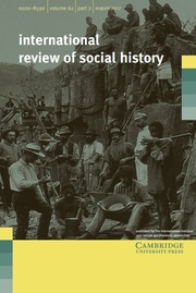 International Review of Social History Volume 62 - Issue 2 -