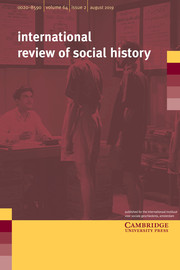 International Review of Social History Volume 64 - Issue 2 -