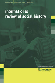 International Review of Social History Volume 65 - Issue 1 -