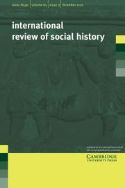 International Review of Social History Volume 65 - Issue 3 -