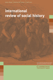 International Review of Social History Volume 66 - Issue 1 -