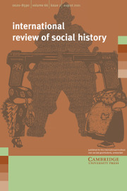International Review of Social History Volume 66 - Issue 2 -