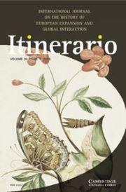 Itinerario Volume 39 - Issue 1 -